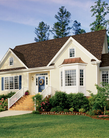 Siding: We never compromise on quality